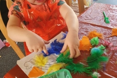 Danielles-daughter-making-her-rainbow-picture