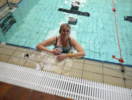 Grandmother Swims For Newlife Charity Syston Town News