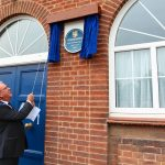 Blue Plaque Unveiled at Syston Masonic Hall