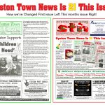 Syston Town News Is 21 This Issue