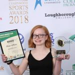 Eleanor Wins Charnwood Sports Award