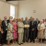 Queen's Award to Volunteer Centre by Duke of Gloucester