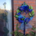 Roundhill Flower and Garden Club: NAFAS Door Wreaths in support of NHS and Key Workers during Coronavirus