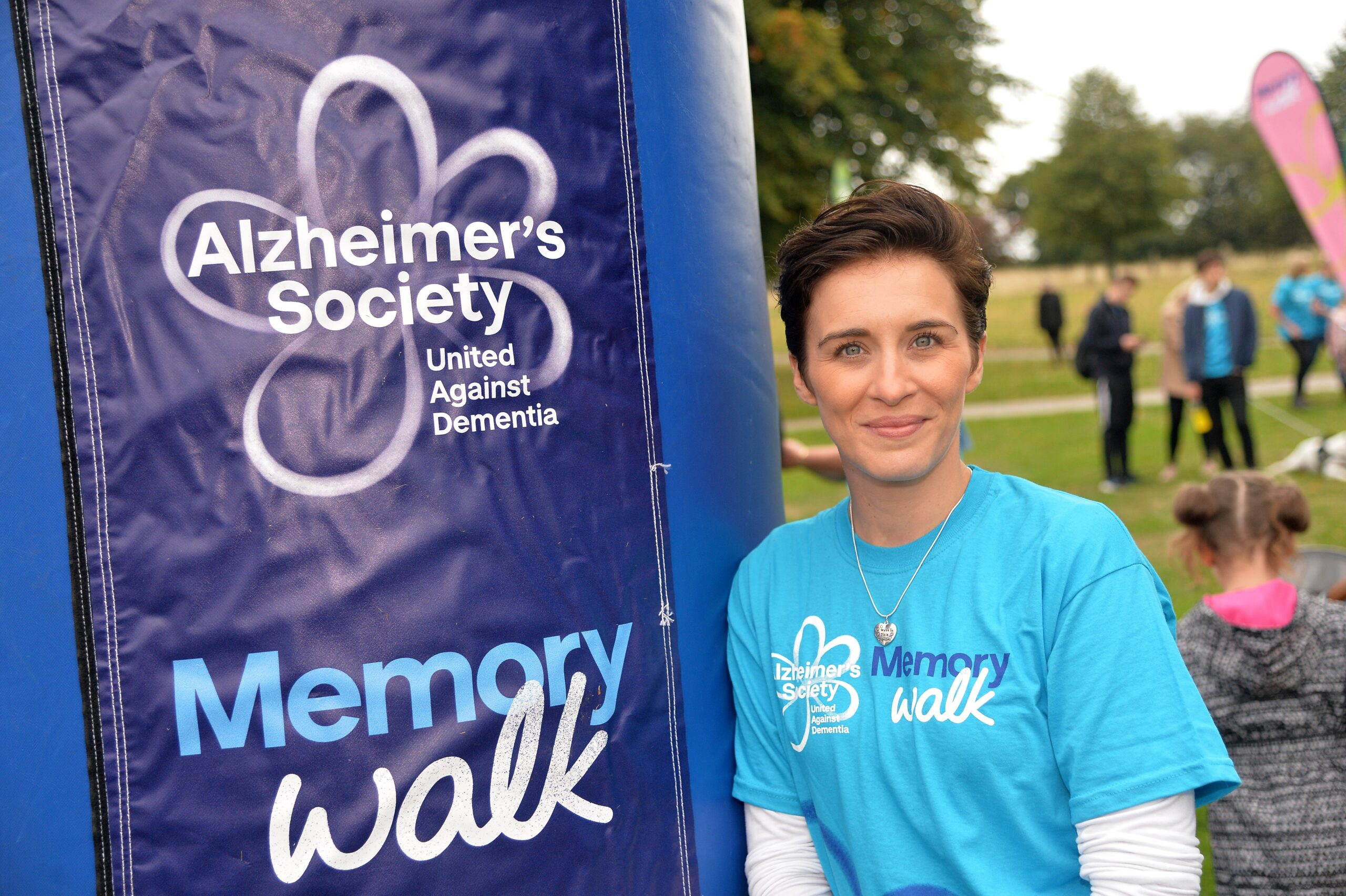 Step Out to Beat Dementia, Urges Vicky McClure