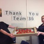University Hospitals of Leicester Thank Syston Village Bakery