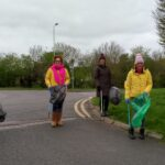 Litter Picking on the Hobby Horse Estate