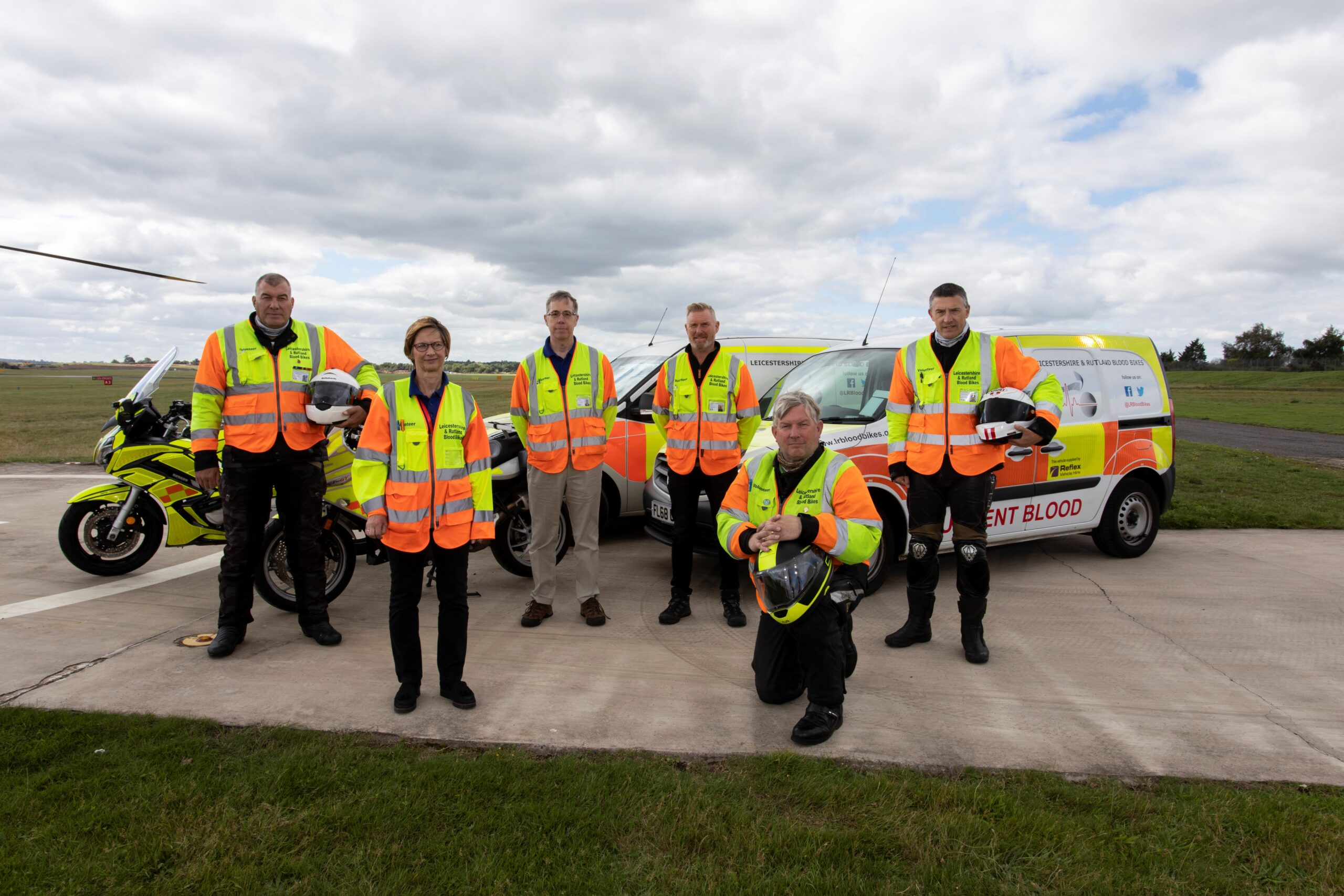 Leicestershire and Rutland Blood Bikes Receives The Queen's Award for Voluntary Service