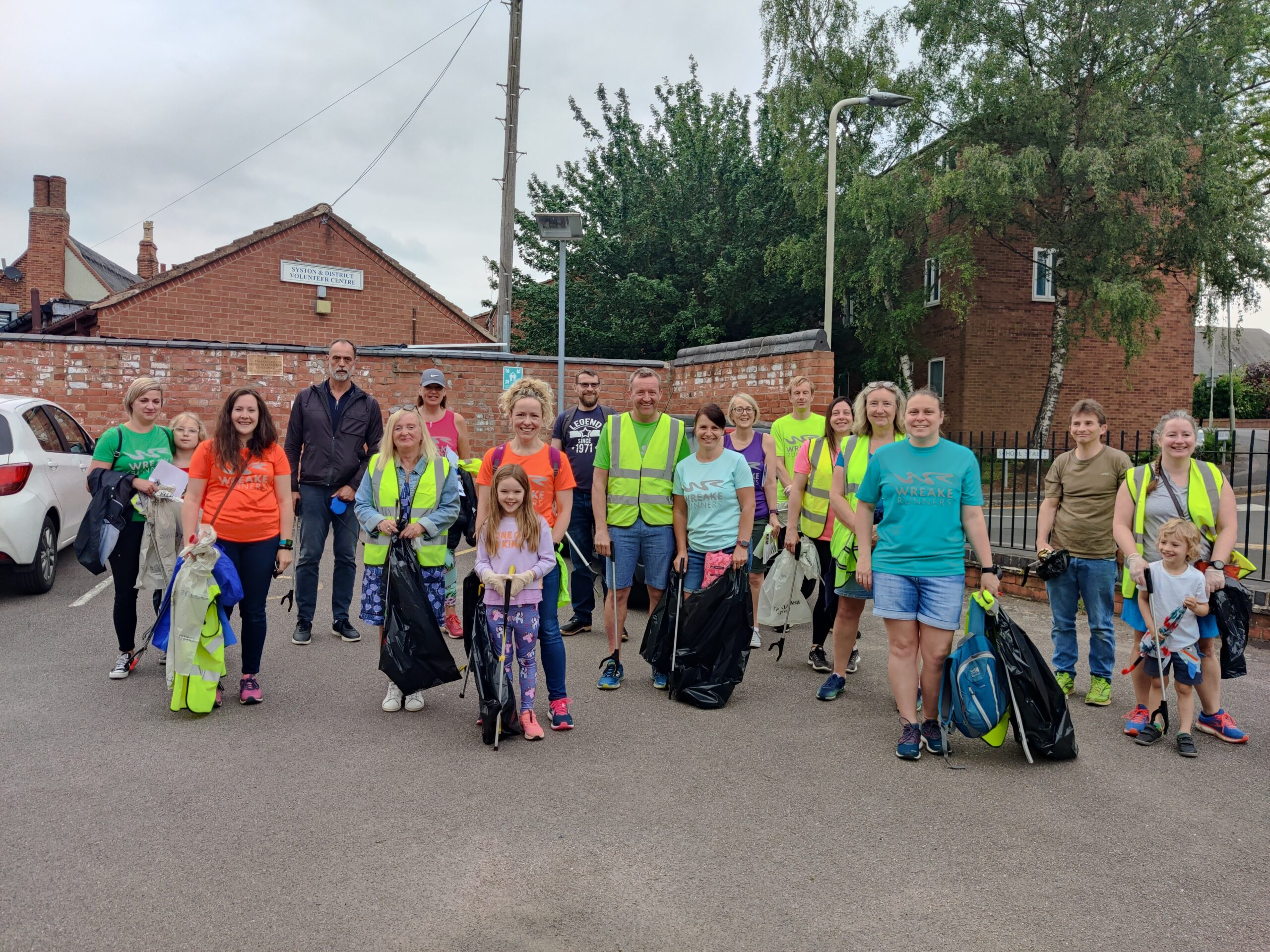 Wreake Runners Helping to Keep Syston Clean